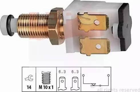 EPS 1.810.009 - Interrupteur des feux de freins www.widencarpieces.com