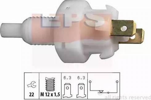 EPS 1.810.004 - Interrupteur des feux de freins www.widencarpieces.com