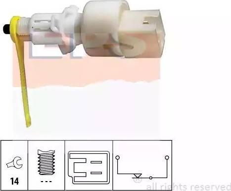 EPS 1810153 - Commande, embrayage (régulateur de vitesse) www.widencarpieces.com