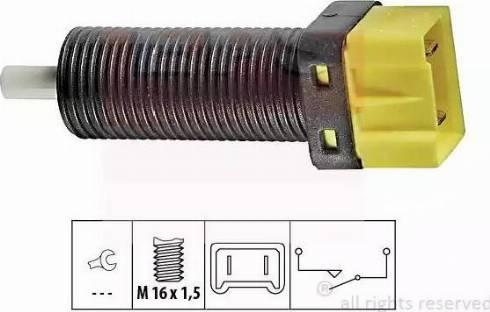 EPS 1810134 - Commande, embrayage (régulateur de vitesse) www.widencarpieces.com