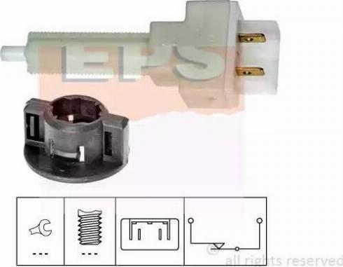 EPS 1.810.129 - Interrupteur des feux de freins www.widencarpieces.com