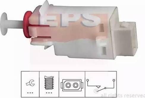 EPS 1810123 - Commande, embrayage (régulateur de vitesse) www.widencarpieces.com