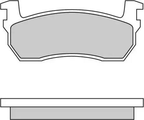 E.T.F. 12-0259 - Kit de plaquettes de frein, frein à disque www.widencarpieces.com