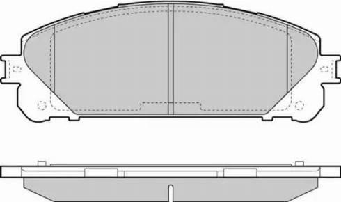 E.T.F. 12-1481 - Kit de plaquettes de frein, frein à disque www.widencarpieces.com