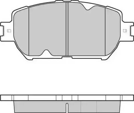 E.T.F. 12-1126 - Kit de plaquettes de frein, frein à disque www.widencarpieces.com