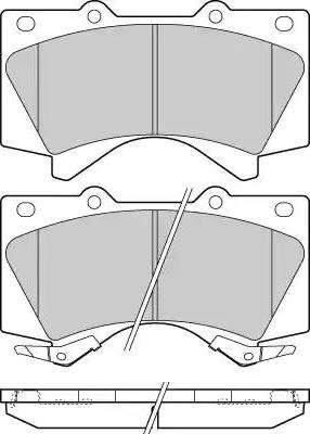 E.T.F. 12-1381 - Kit de plaquettes de frein, frein à disque www.widencarpieces.com