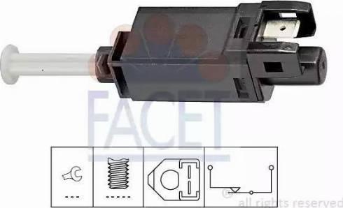 FACET 7.1056 - Interrupteur des feux de freins www.widencarpieces.com