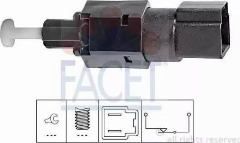 FACET 7.1104 - Interrupteur des feux de freins www.widencarpieces.com