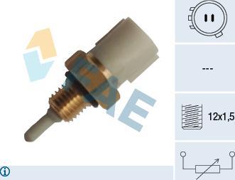 FAE 33229 - Capteur, température de l'air d'admission www.widencarpieces.com