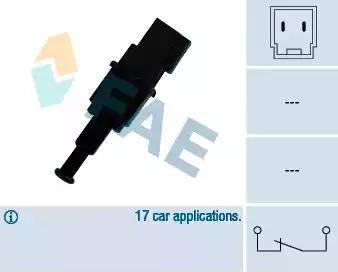 FAE 24490 - Interrupteur des feux de freins www.widencarpieces.com