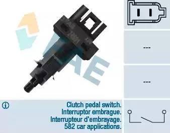 FAE 24591 - Commande, embrayage (régulateur de vitesse) www.widencarpieces.com