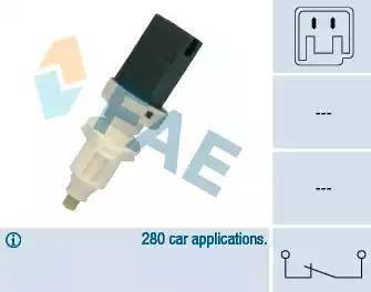 FAE 24660 - Interrupteur des feux de freins www.widencarpieces.com