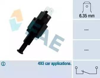 FAE 24310 - Interrupteur des feux de freins www.widencarpieces.com
