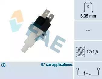 FAE 24200 - Interrupteur des feux de freins www.widencarpieces.com