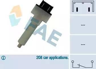 FAE 24280 - Interrupteur des feux de freins www.widencarpieces.com