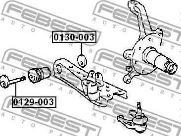 Febest 0129003 - Vis de correction du carrossage www.widencarpieces.com