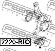 Febest 2220-RIO - Rotule de suspension www.widencarpieces.com