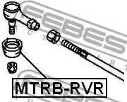 Febest MTRB-RVR - Kit de réparation, rotule de barre de connexion www.widencarpieces.com