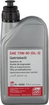 Febi Bilstein 40580 - Huile pour engrenage d'essieux www.widencarpieces.com