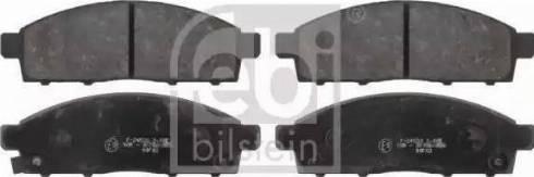 Remsa 1434.02 - Kit de plaquettes de frein, frein à disque www.widencarpieces.com