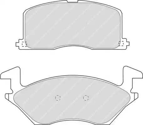 Ferodo FDB943 - Kit de plaquettes de frein, frein à disque www.widencarpieces.com