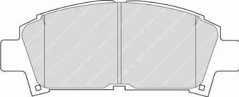 Ferodo FDB928 - Kit de plaquettes de frein, frein à disque www.widencarpieces.com
