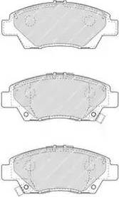 Ferodo FDB4404 - Kit de plaquettes de frein, frein à disque www.widencarpieces.com