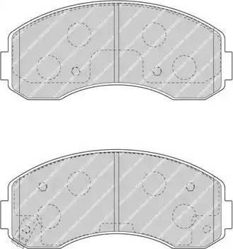 Ferodo FDB4567 - Kit de plaquettes de frein, frein à disque www.widencarpieces.com