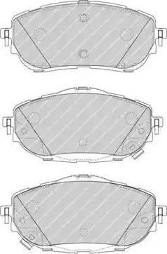 Ferodo FDB4648 - Kit de plaquettes de frein, frein à disque www.widencarpieces.com