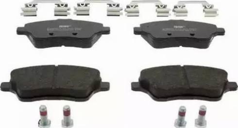 Ferodo FDB4612 - Kit de plaquettes de frein, frein à disque www.widencarpieces.com