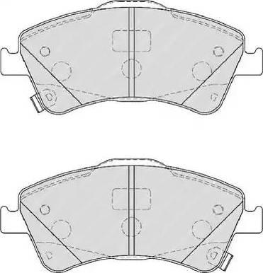 Ferodo FDB4047 - Kit de plaquettes de frein, frein à disque www.widencarpieces.com
