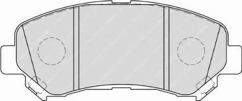 Ferodo FDB4051 - Kit de plaquettes de frein, frein à disque www.widencarpieces.com