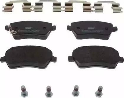 Ferodo FDB4069 - Kit de plaquettes de frein, frein à disque www.widencarpieces.com