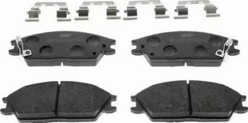 Ferodo FDB4076 - Kit de plaquettes de frein, frein à disque www.widencarpieces.com