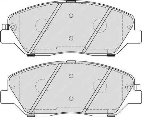 Ferodo FDB4111 - Kit de plaquettes de frein, frein à disque www.widencarpieces.com