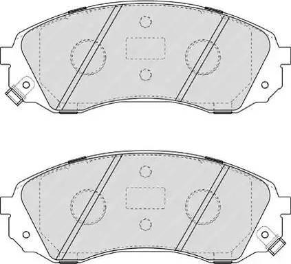Ferodo FDB4113 - Kit de plaquettes de frein, frein à disque www.widencarpieces.com