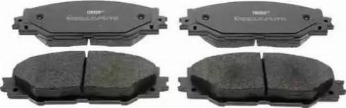Ferodo FDB4136 - Kit de plaquettes de frein, frein à disque www.widencarpieces.com