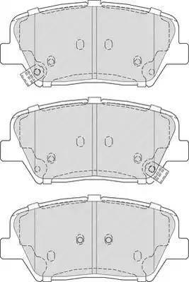 Ferodo FDB4396 - Kit de plaquettes de frein, frein à disque www.widencarpieces.com