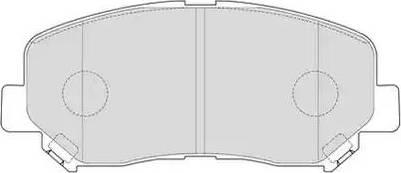 Ferodo FDB4357 - Kit de plaquettes de frein, frein à disque www.widencarpieces.com