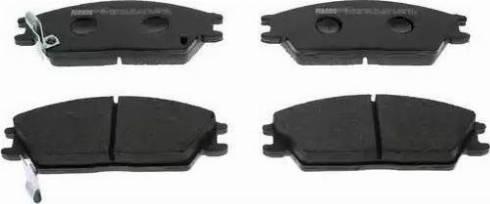 Ferodo FDB435 - Kit de plaquettes de frein, frein à disque www.widencarpieces.com