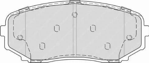 Ferodo FDB4365 - Kit de plaquettes de frein, frein à disque www.widencarpieces.com