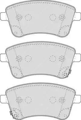 Ferodo FDB4339 - Kit de plaquettes de frein, frein à disque www.widencarpieces.com