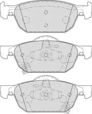 Ferodo FDB4269 - Kit de plaquettes de frein, frein à disque www.widencarpieces.com