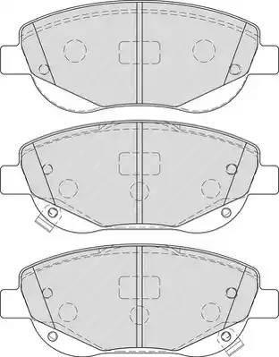 Ferodo FDB4276 - Kit de plaquettes de frein, frein à disque www.widencarpieces.com
