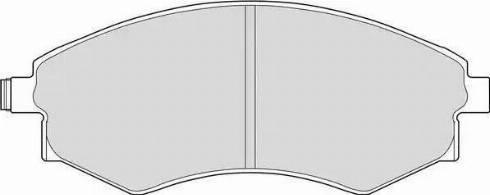 Ferodo FDB600 - Kit de plaquettes de frein, frein à disque www.widencarpieces.com