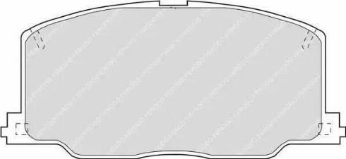 Ferodo FDB602 - Kit de plaquettes de frein, frein à disque www.widencarpieces.com