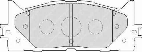 Ferodo FDB1991 - Kit de plaquettes de frein, frein à disque www.widencarpieces.com