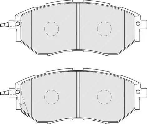 Ferodo FDB1984 - Kit de plaquettes de frein, frein à disque www.widencarpieces.com