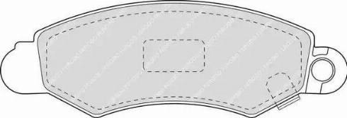 Ferodo FDB1459 - Kit de plaquettes de frein, frein à disque www.widencarpieces.com