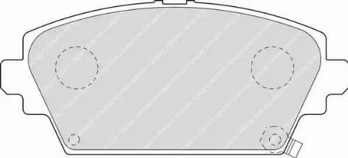 Ferodo FDB1439 - Kit de plaquettes de frein, frein à disque www.widencarpieces.com